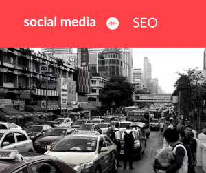 social media or seo to drive traffic