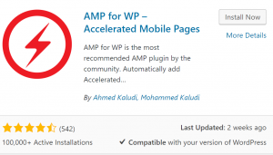 does amp help seo ranking plugin